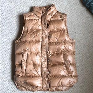 J. Crew down filled nylon vest